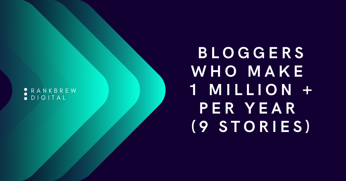 Bloggers Who Make 1 Million