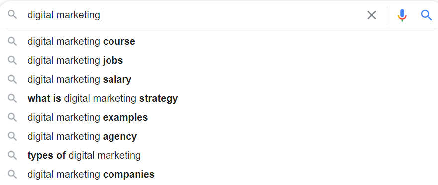 keyword research begins with knowing which words are relevant to your niche. Organic growth begins with SEO
