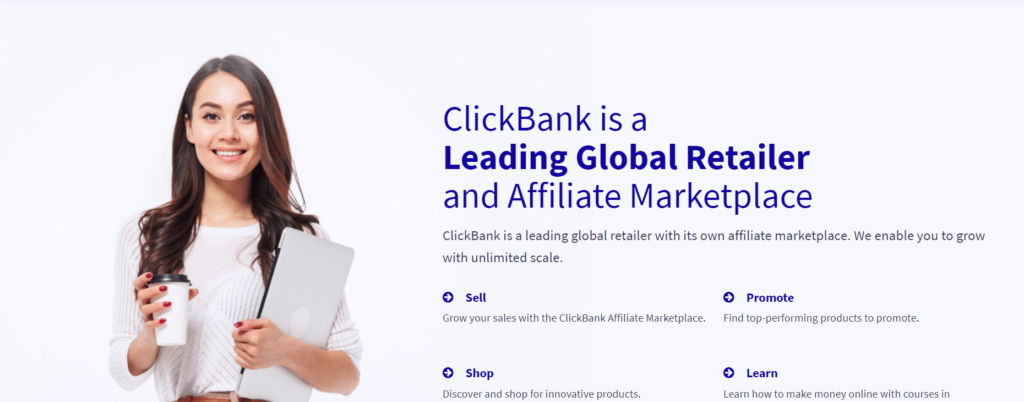 affiliate marketing with click bank.